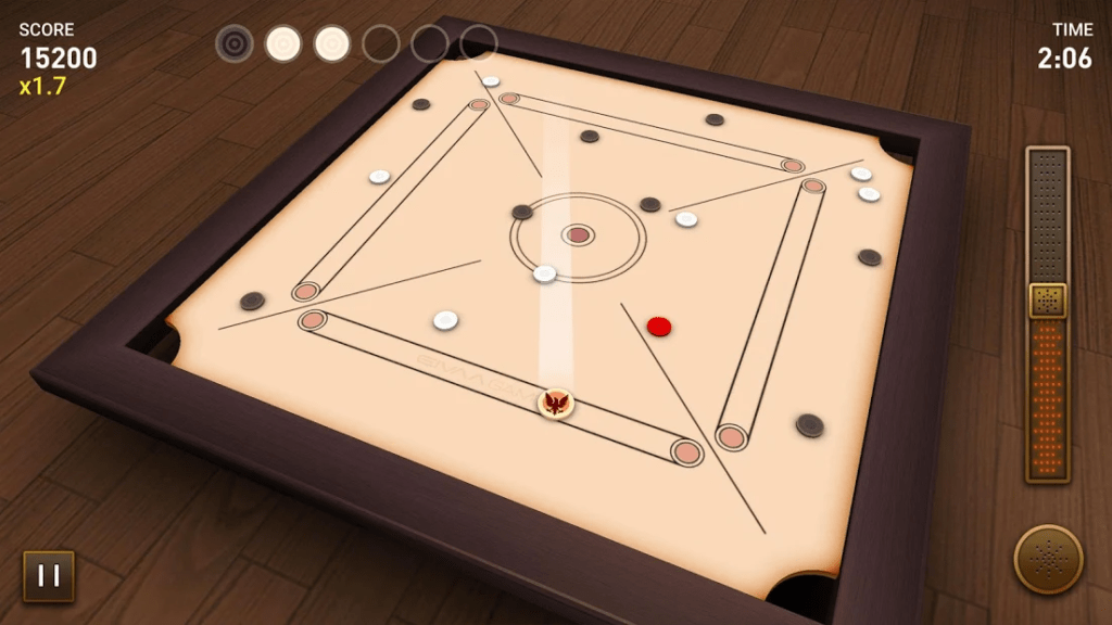 Carrom for iOS and Android