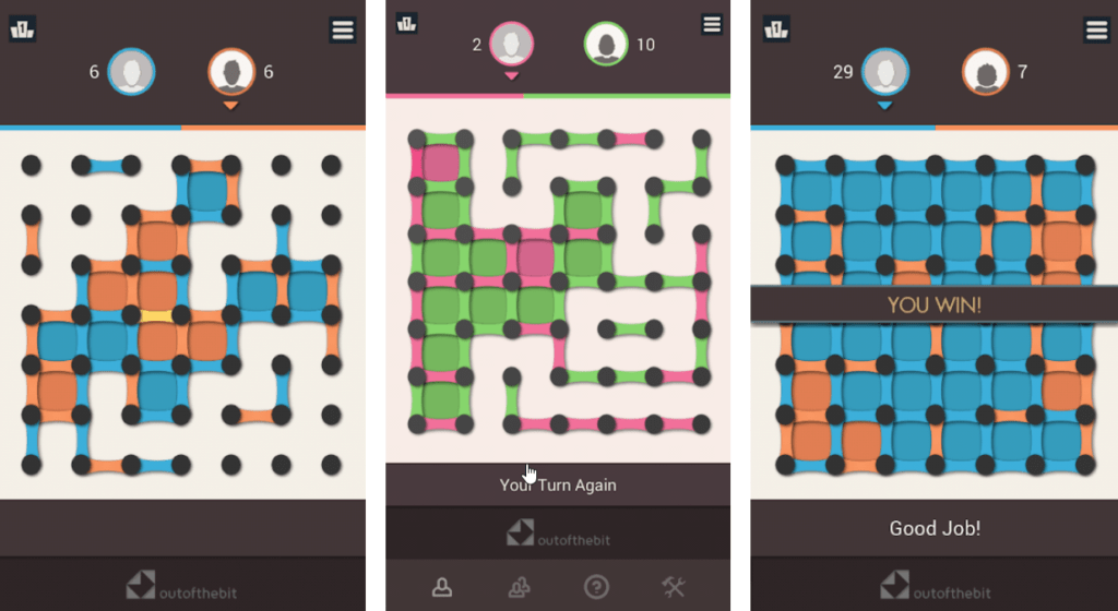 Dots and Boxes for Android & iOS