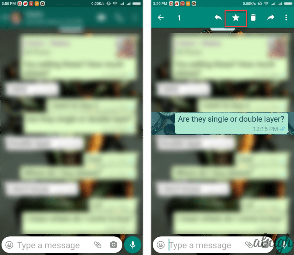 How to Bookmark a WhatsApp Message