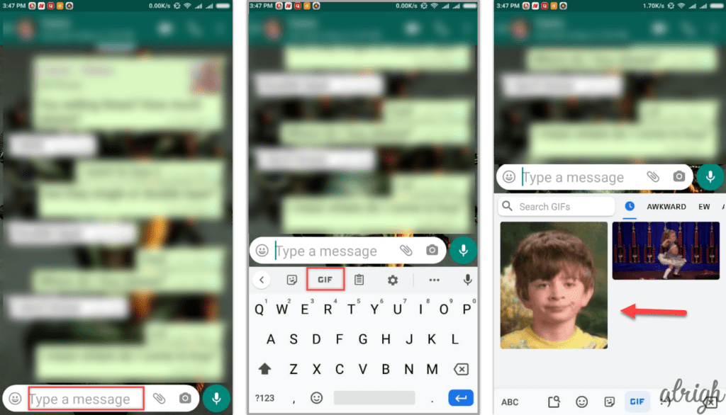 How to Send a GIF in WhatsApp