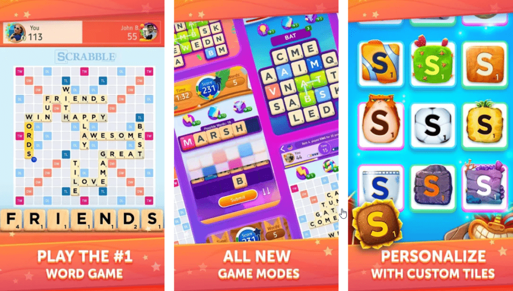 Scrabble for Android & iOS