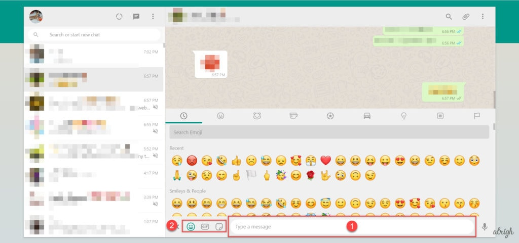 How to Send a Message on WhatsApp Web