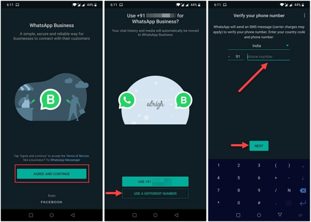 How to Use Dual WhatsApp on same phone with WhatsApp Business