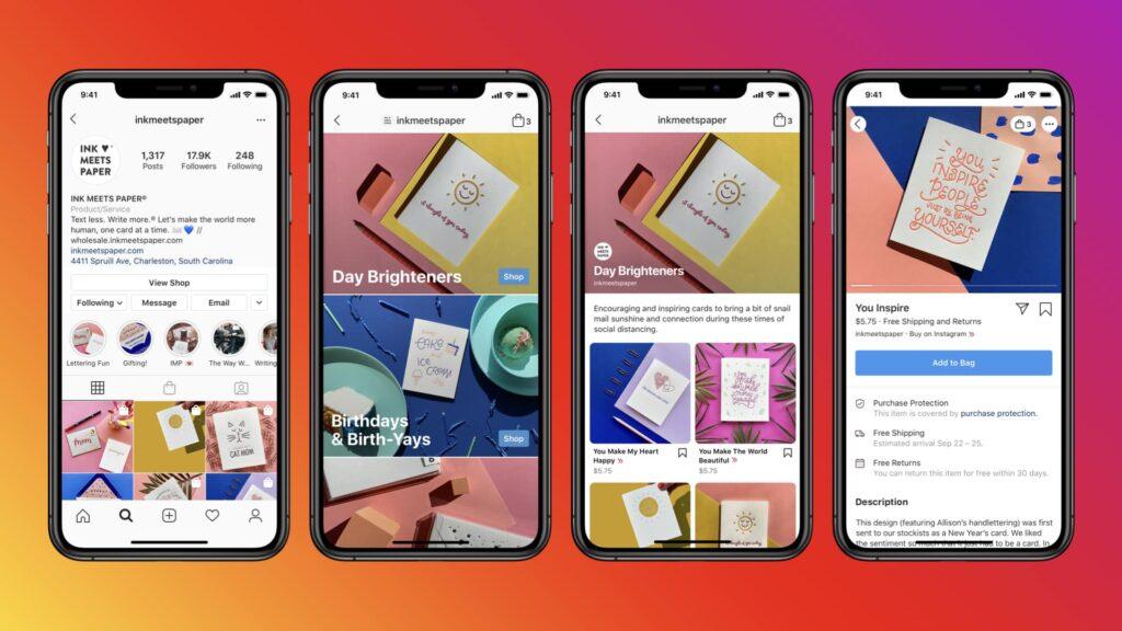 Instagram Shops by Facebook