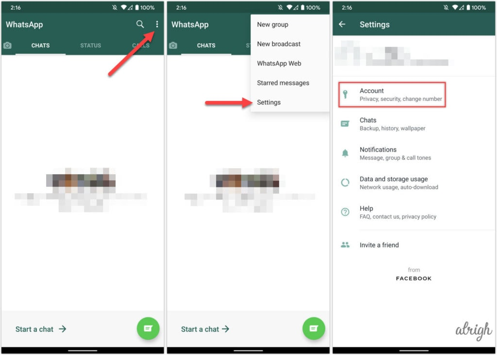 Set Up 2 Step Verification on WhatsApp for Android
