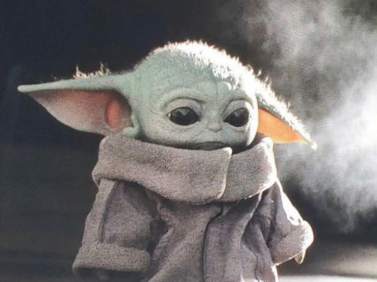 Baby yoda profile picture