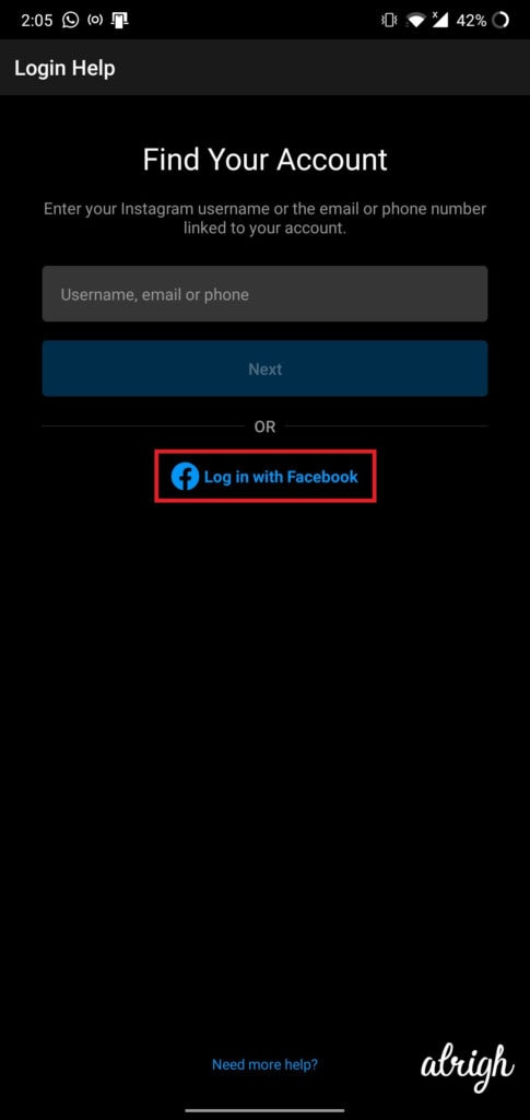 Can I Use My Facebook Account to Recover My Instagram Account 1