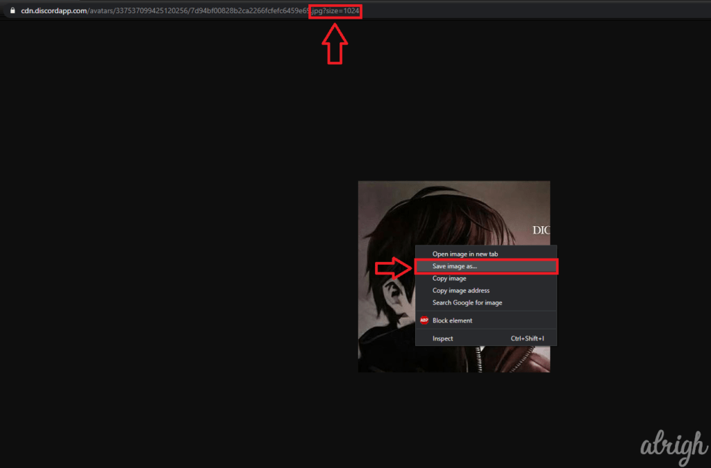 Download Discord Profile Picture with Inspect Element 5