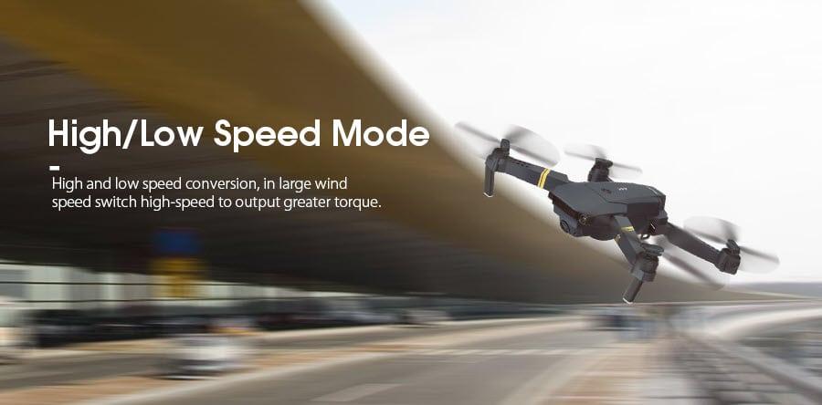 Eachine E58 Speed Modes