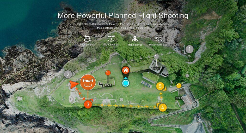 FIMI X8 SE Flight Planning