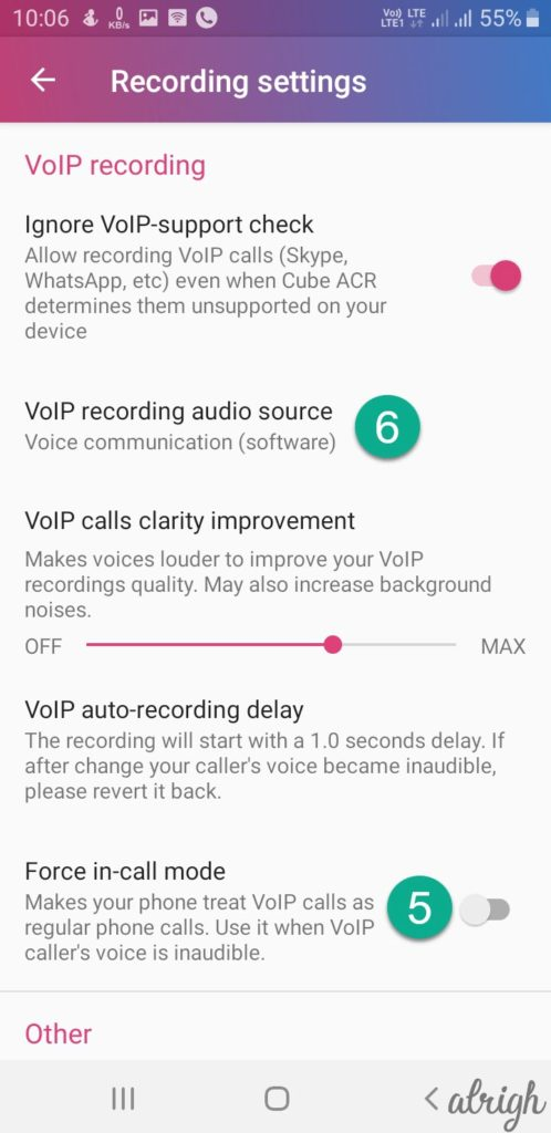 Fixing Cube Call Recording Problems