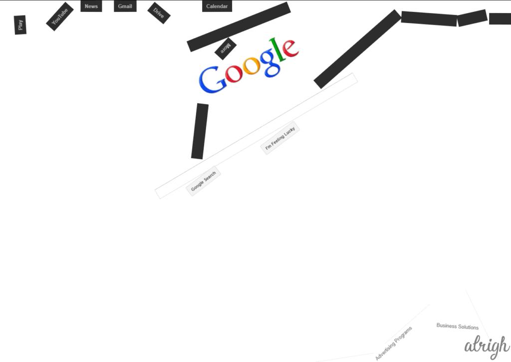 Google Space Trick