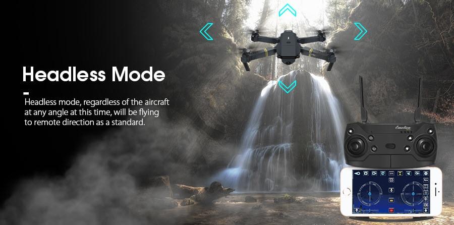 Headless Mode in Eachine E58 Pocket Drone