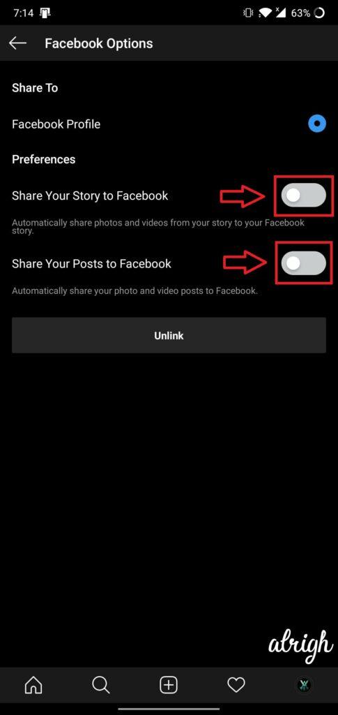 How Do I Link Instagram & Facebook For Mobile 6