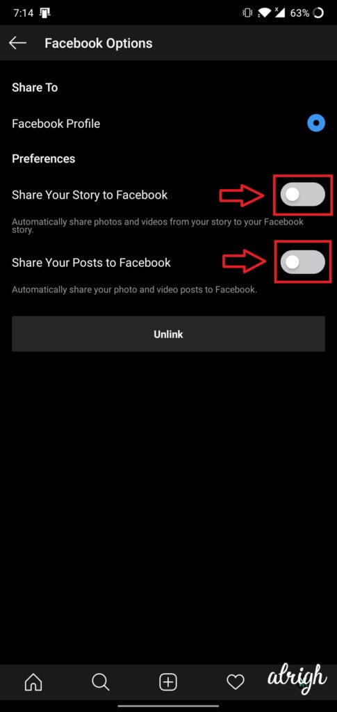 How Do I Link My Instagram Account to My Facebook Account 6