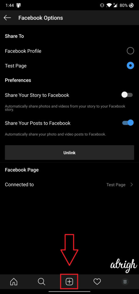 How Do I Post from Instagram to Facebook 1