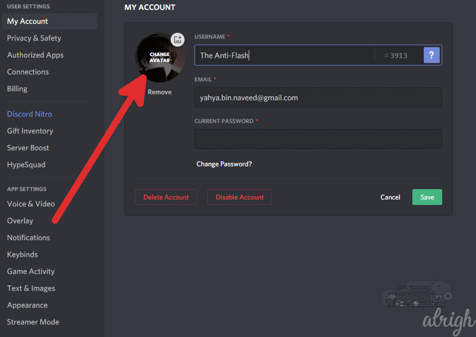 How to Change Discord Profile Picture on PC 3