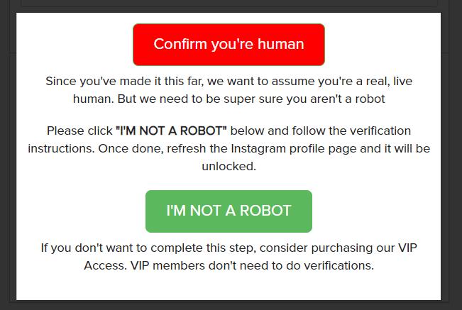 Like Creeper I'm Not a Robot Check