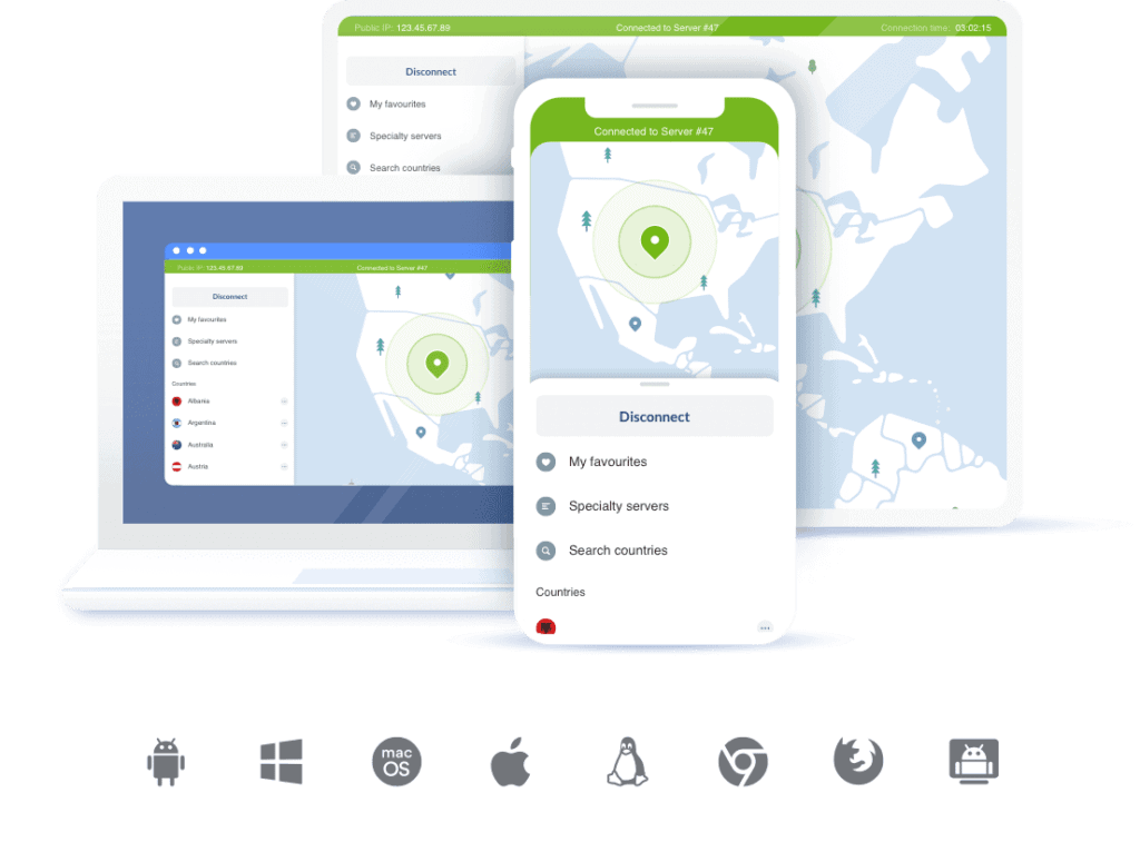 NordVPN Apps & Devices