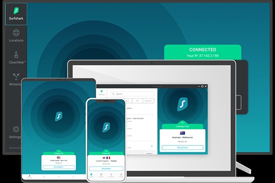 SurfShark Apps & Devices