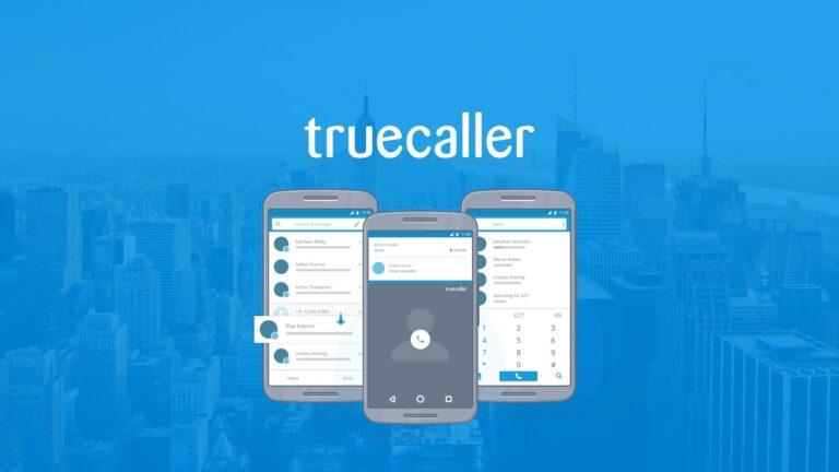 Truecaller Logo Banner