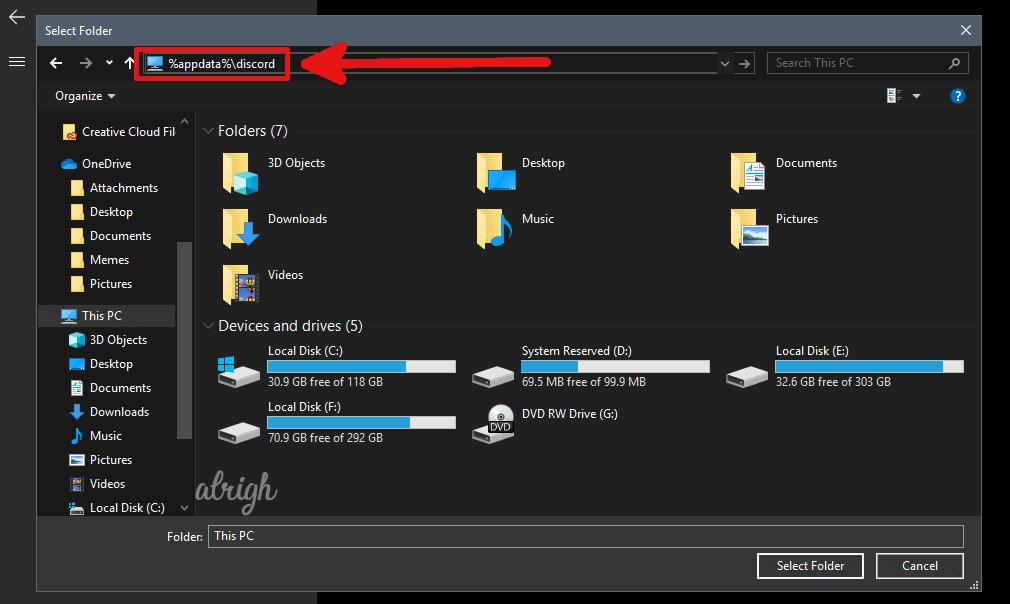 add discord to anti virus exclusion 5