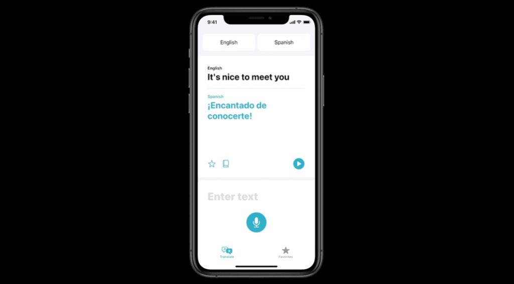 iOS 14 Apple Translate