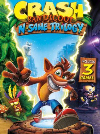 Crash Bandicoot Bundle-N.Sane Trilogy + CTR Nitro-Fueled