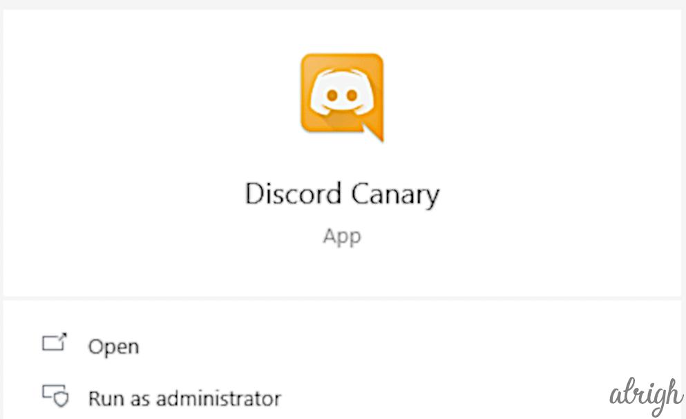 Discord Canary