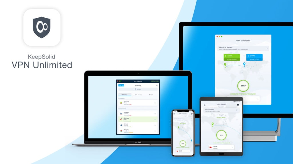 KeepSolid VPN Unlimited Apps & Devices