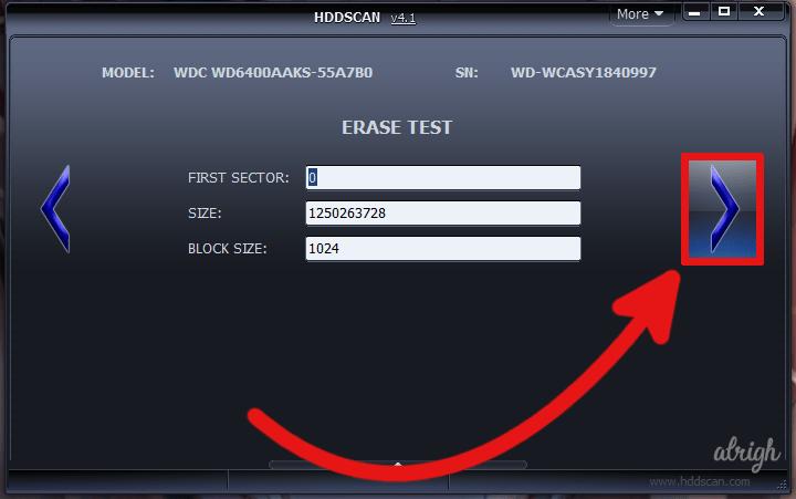 Use HDDScan to Fix CRC Data Error 3