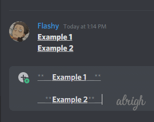 How to Bold & Underline Text with Discord Markdown Formatting