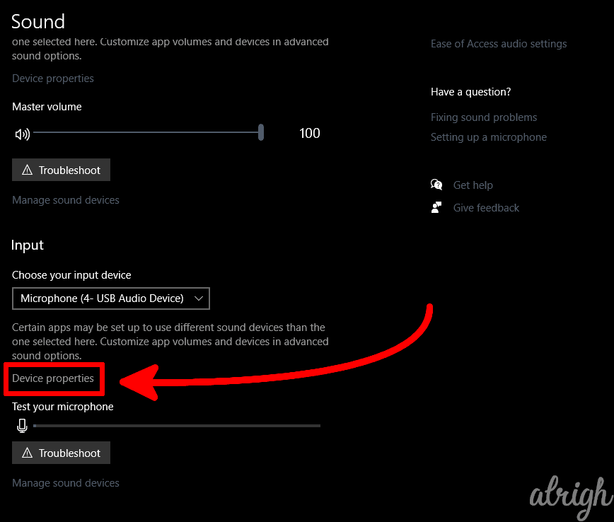 Disable Exclusive Microphone Control in Windows Settings 2