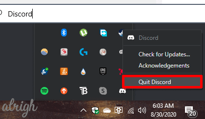 Relaunch Discord as an Administrator 1