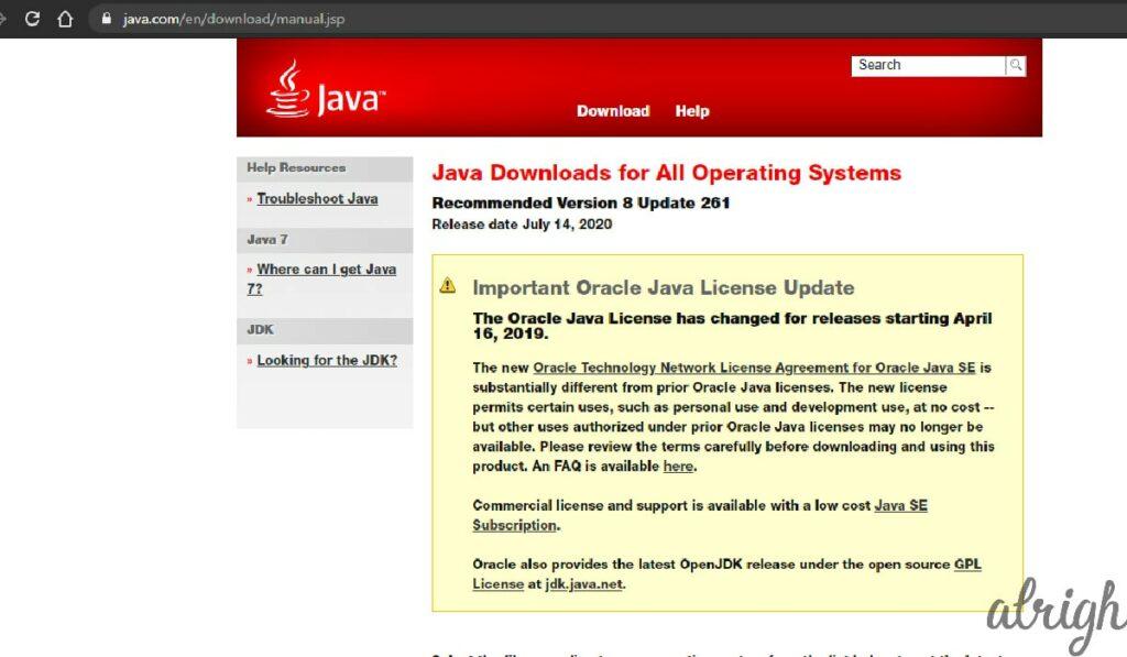 Update Your Java 2