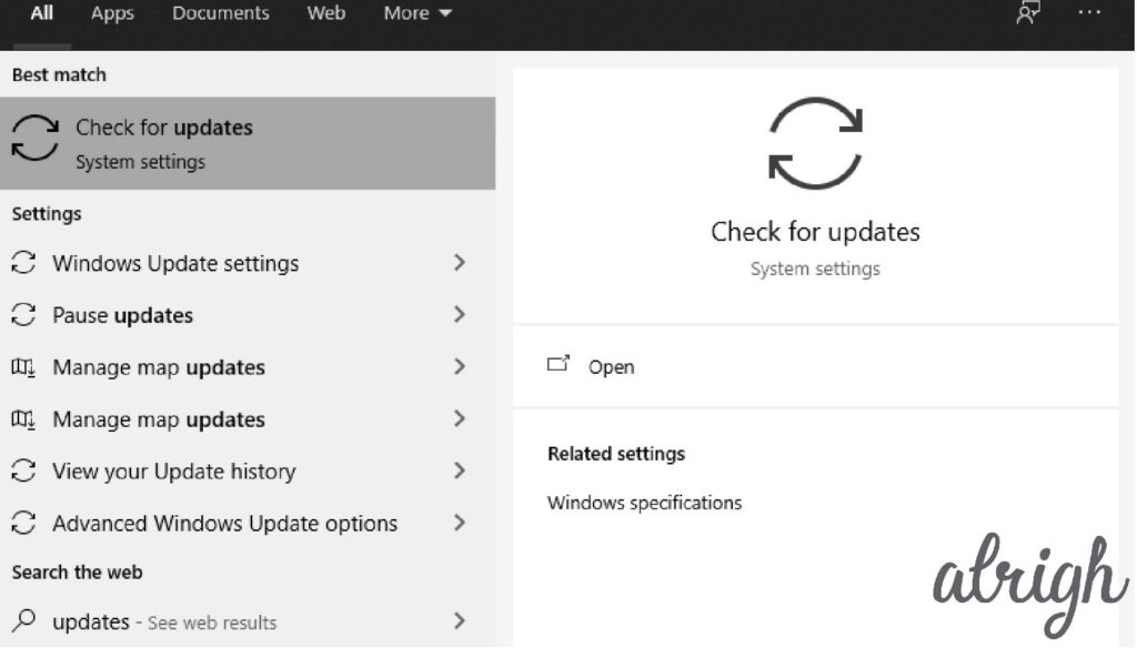 Update Your Windows OS 1