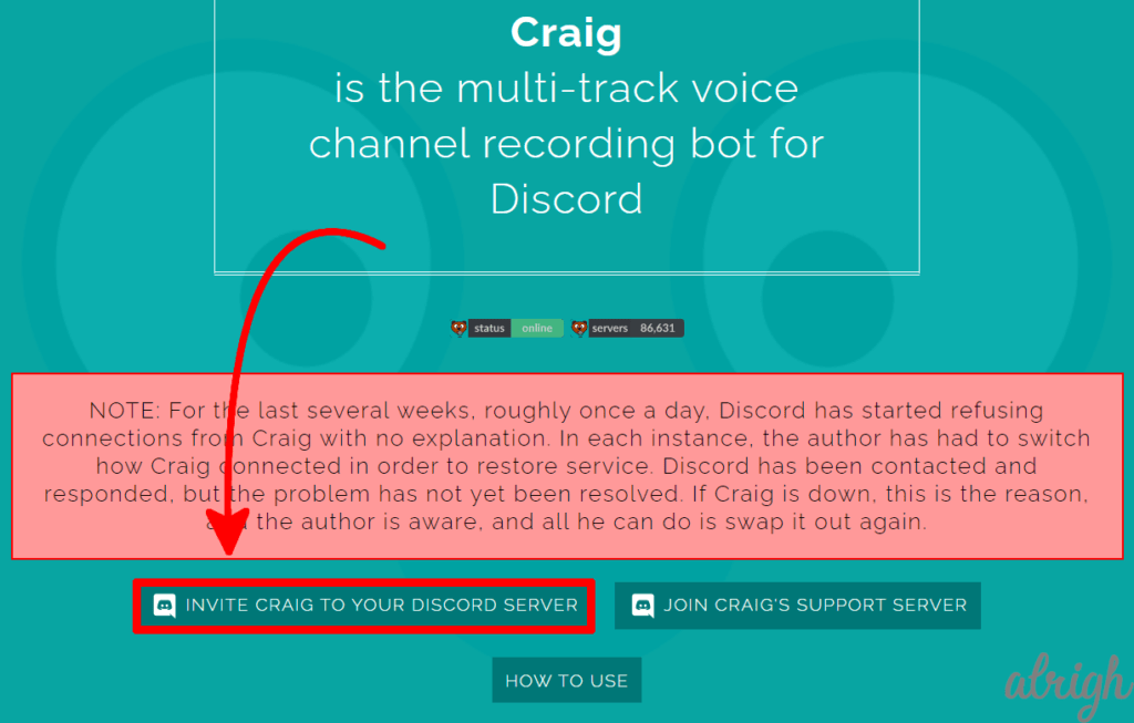 Use Craig Bot To Record Audio On Discord 1