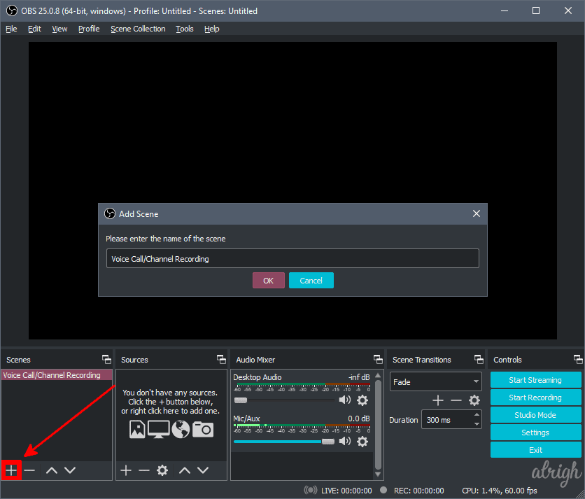 Use OBS To Record Audio On Discord 1