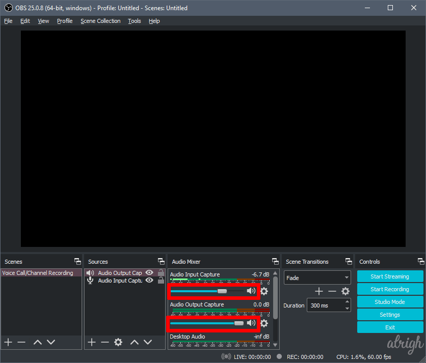 Use OBS To Record Audio On Discord 7