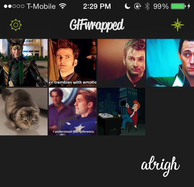 Use GIFwrapped to Save Twitter GIFs on Iphone