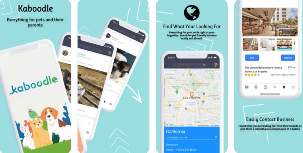 Kaboodle the pet owners app for iOS