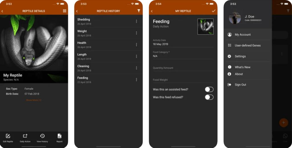 My Reptiles app on App store
