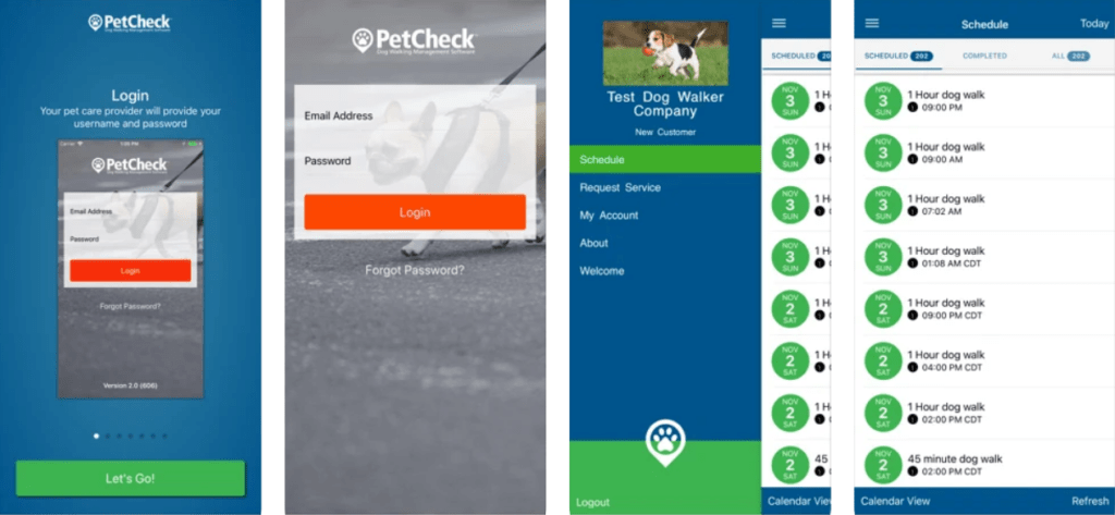 pet check for pet owners app