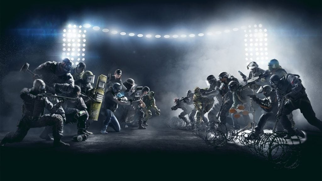 First Person Shooter. Tom Clancy: Rainbow Six Seige