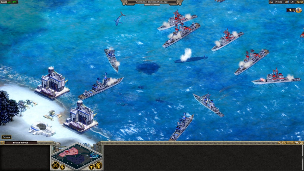 Rise of Nations, an Real-Time Strategy game