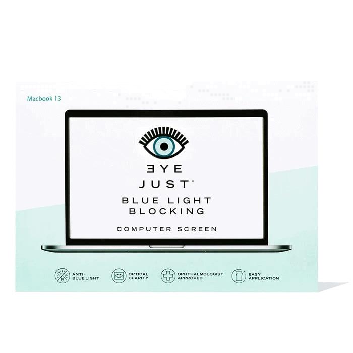 Eyejust on laptop screen