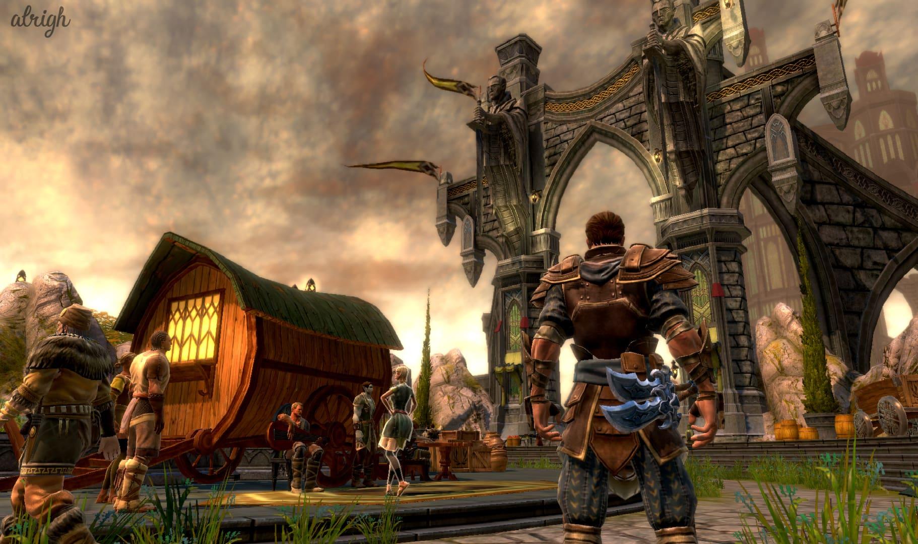 Games like Skyrim - Kingdoms of Amalur: Reckoning